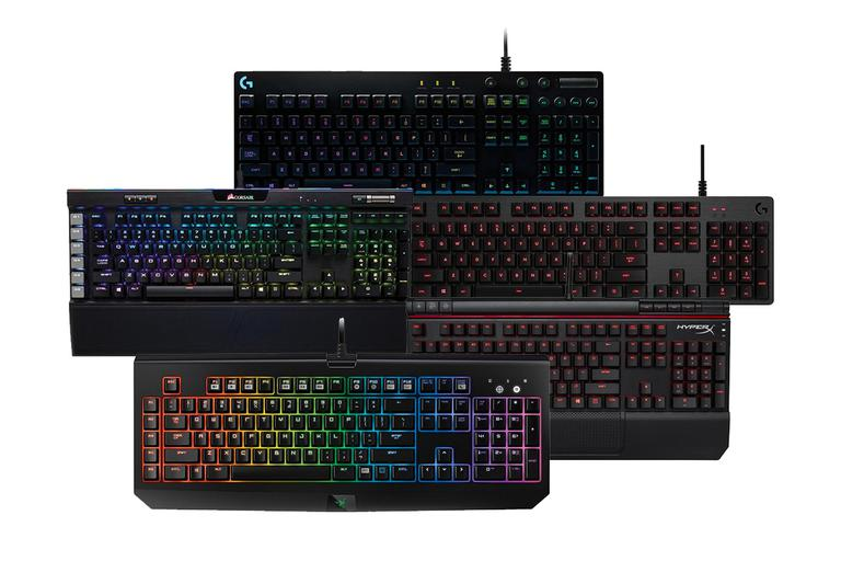 Gaming Keyboard Comparison 2018