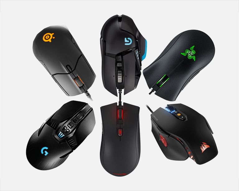 Gaming Mouse Comparison 2018
